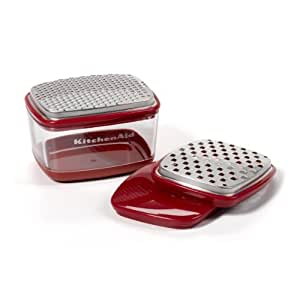 KitchenAid Gourmet Cup Grater (Red) by KitchenAid
