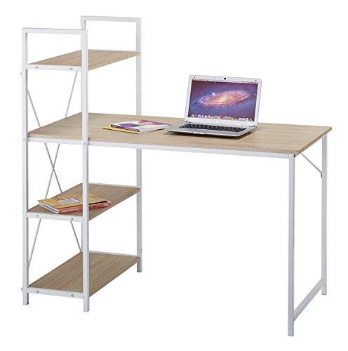 cherrytree-furniture-4-tier-shelves-computer-desk-home-office-study-desktop-laptop-table-computer-wo