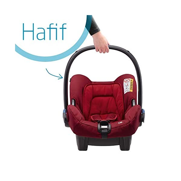 Maxi-Cosi Kinderautositz Citi Robin Red Maxi-Cosi Side protection system, guarantees optimal protection in the event of a side impact Lightweight, light weight and ergonomically shaped safety bar for use as carrying handle Practical travel system 3