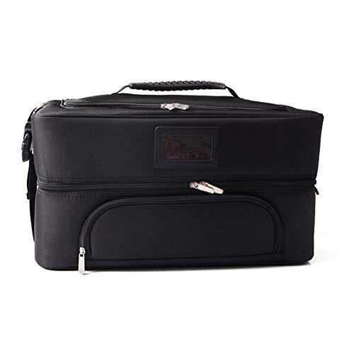 Qzny Cas cosmétique, beauté Box Vanity Case Professionnel Maquilleur Train Train Case Grande Capacité Portable Boîte Cosmétique De Stockage Boîte De Tatouage (Couleur : B, Taille : 40 * 20 * 21cm)