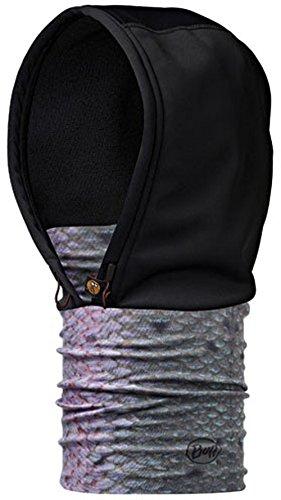 Buff foulard multifonction coupe-vent à capuche pour adulte Multicolore - STEEL HEAD