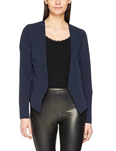 PIECES Damen Anzugjacke Pcivana LS Blazer Noos, Blau (Navy Blazer Navy Blazer), 34 (Herstellergröße: XS)