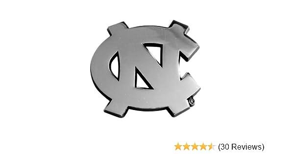 FANMATS  14902  NCAA UNC University of North Carolina Chapel Hill Tar Heels Chrome Team Emblem