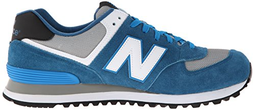 New Balance ML574 D, Baskets mode homme Bleu (Cpd Blue/Grey)