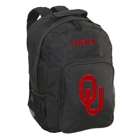 NCAA Oklahoma Sooners Southpaw Backpack, Black