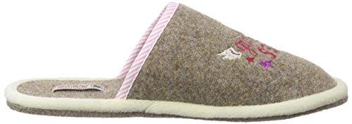 Pantofole Adelheid Da Donna Buonanime Pantofole Marrone (nocciola 302)