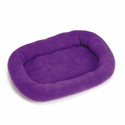 Slumber Pet Bright Terry 17 by 11-Inch Dog Crate Bed Mat, X-Small, Purple by Leynas Pup Palace, LLC (English manual)