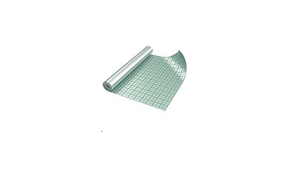 """Rasterfolie Fußbodenheizung /""""HEATALOR 3050/"""" 50m² //Alufolie isolierung"""