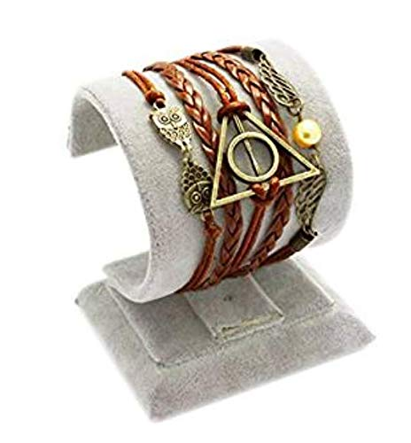 Colgante de ala de moda 3 en 1 pulsera hecha a mano 12