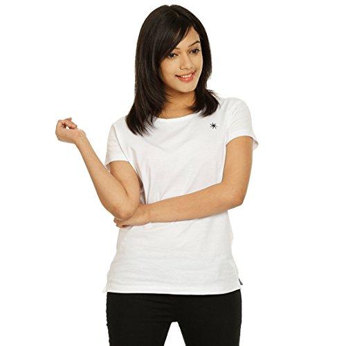 Zeven Essentials Women Round neck T-Shirt, White
