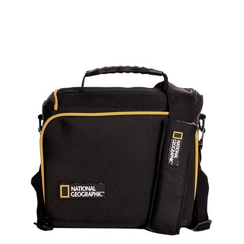 National Geographic - Tracolla Con Logo Urban Camera Nero 23X20X12 Cm
