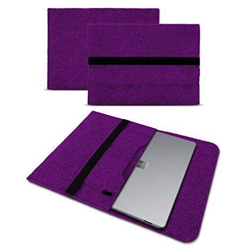 Microsoft Surface Laptop 13,5 Sleeve Cover Hülle Tasche Notebook Filz Case Schutzhülle, Farben:Lila