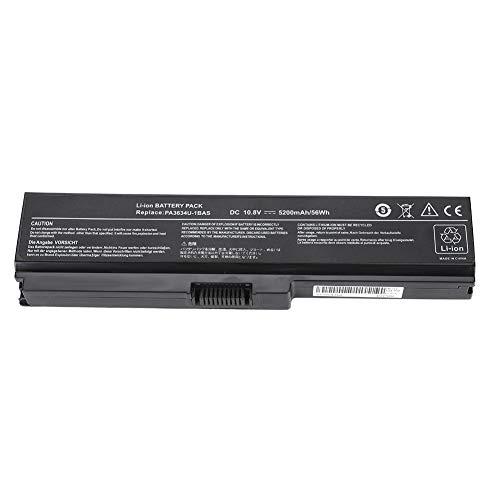 Eboxer 6 Zellen 5200 mAh Akku Batterie Netzteile für Toshiba Satellite L645 L655 L700 L730 L750 L755 PA3817U-1BRS