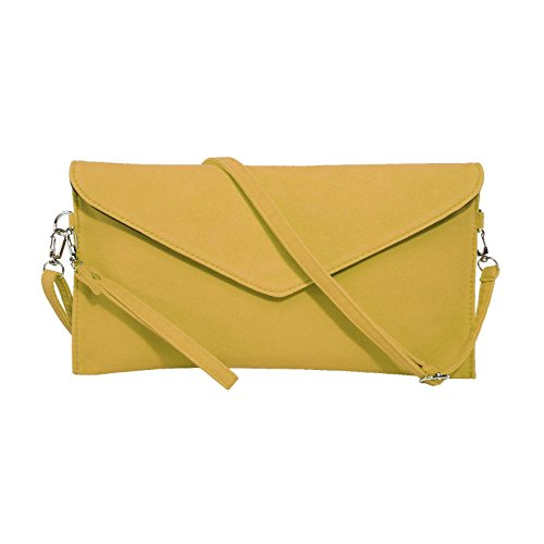 jieway-womens-faux-suede-evening-clutch-bag-shoulder-handbag-messenger-envelope-bags-yellow