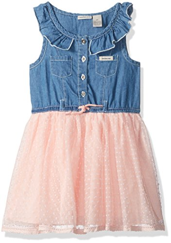 Calvin Klein Girls' Casual Dress