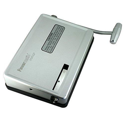 MM 17026 Powermatic 150 - Hebelstopfmaschine, Manual Injector Zigaretten Stopfmaschine, Chrom, silber, 20 x 15 x 5 cm
