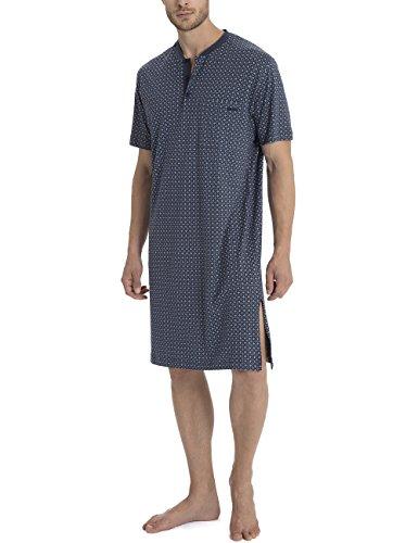 Calida Herren Einteiliger Schlafanzug Larry Blau (Blue Grotto 463)