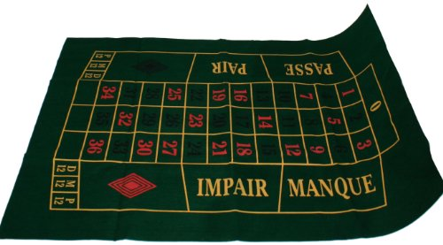 Weiblespiele 320564 - Roulette Spielplan 130 x 90 cm