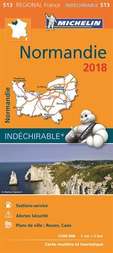 Carte Normandie 2018
