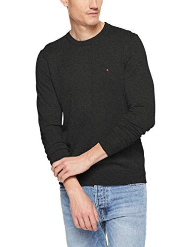 Tommy Hilfiger Core Cotton-Silk Cneck suéter