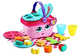 LeapFrog 603603 Shapes & Sharing Picnic Basket Baby Toy Educational and Interactive 16 Pieces for Creative and Learning Play For Boys & Girls 6 months, 1, 2, 3 Year Olds, Pink, One Size