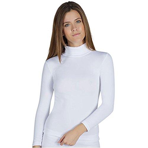 YSABEL MORA - Camiseta TERMICA Cisne Mujer Color: Blanco Talla: S