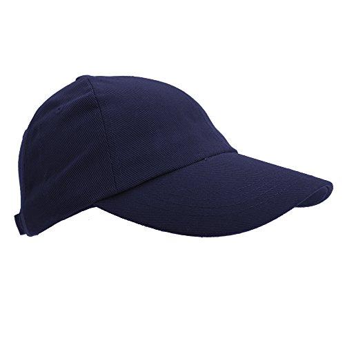 Result - Casquette unie style pro - Adulte unisexe (Taille unique) (Bleu marine)