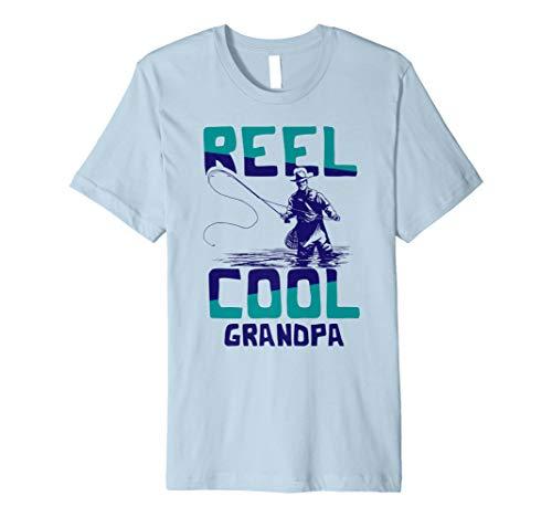 Cool Angelrolle Grandpa shirt Best Vater Angeln Tee