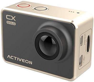 Resistente al agua ACTIVEON GCA10W CX de vídeo de oro (importado)