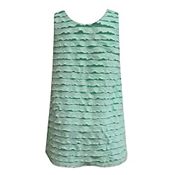 mayoral - Girls Short Sleeve Dress Spring Dress Tunic Dog Motif, Green - 3999g