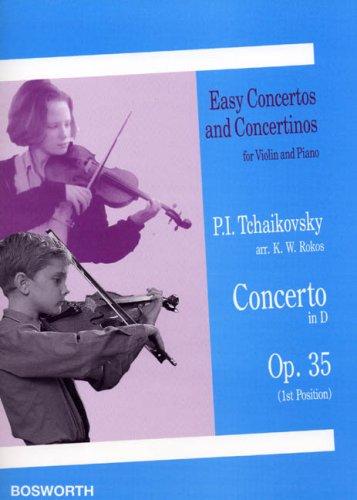 Pyotr ilyich Tchaïkovski: violin concerto in d (op.35)