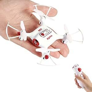 FPVRC SYMA X20-S Mini RC Quadcopter Drone 2.4G 4CH 6 Aixs Gyro, Fisso Altitudine/Controllo G-Sensor/Modello Senza Testa/360° Acrobazia - RTF(Bianca)