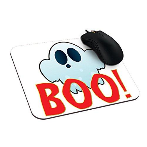 uspad Boo Persönlicher Maus Pad Ghost Gute Maus Pads Herr GHOSTY (Beste Halloween-office-designs)