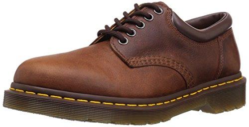 Dr. Martens 8053 Boot,Tan Harvest,3 UK/Women's 5, Men's 4 M US - 5 Eye Padded Collar Oxford