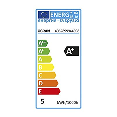 OSRAM LED-Reflektorlampe GU5.3 Star MR16 12V / 5W - 35 Watt-Ersatz, LED-Spot Abstrahlungswinkel 36° / kaltweiß - 4000K, 6er Pack
