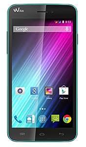 Wiko Lenny Smartphone débloqué 3G+ (Ecran : 5 pouces - 4 Go - Android 4.4 KitKat) Turquoise