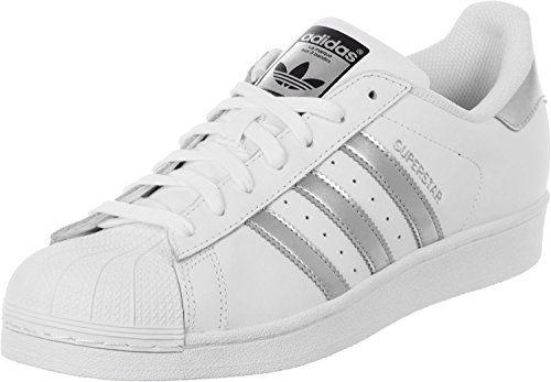 adidas Superstar, Sneakers Basses Femme Blanc