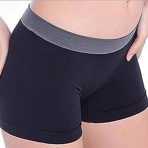 dryujdytru Mode Schwarz Hot Shorts Sportkleidung Freizeit Hose für Yoga Pilates Fitness UK für Camping, Piknik und Weitere Outdoor-Aktivitäten