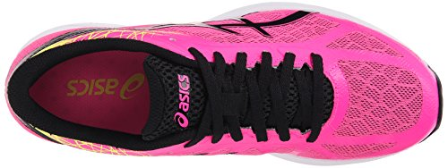 Asics Gel-DS Racer 11 Synthétique Chaussure de Course Hot Pink-Black-Flash Yellow