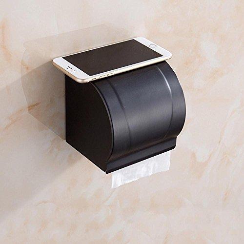 Wc Papier Halter Voll Kupfer Schwarz Bronze Tissue Box Antiken Rollenpapier Wc Toilettenpapier Handtuchhalter Europäischen Bad Toilettenpapierhalter, Ein Antike Bronze Bad-caddy