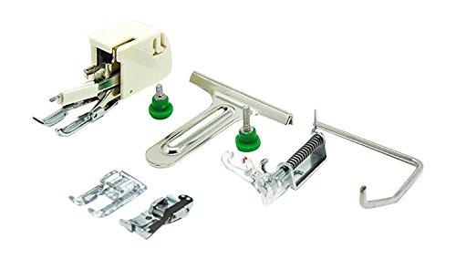 Alfa-organ set accessori di cucito per patchwork e imbottito, accessorio per macchina da cucire, acciaio inox
