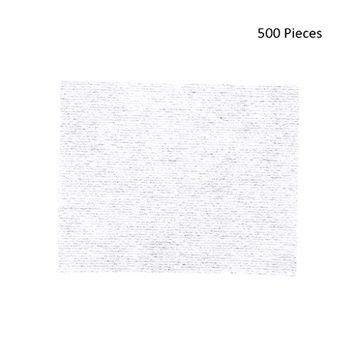 500 pcs Visage Démaquillants Maquillage Lingettes Tampons De Coton Tampons Démaquillants Tampons Doux Cosmétiques Visage Masque Nettoyage Soins (Color : White, Taille : 6 * 5cm)