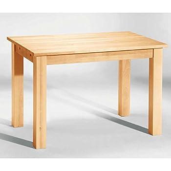 Tisch esstisch bergheim buche massiv 120x80 breite 110 cm for Esszimmertisch buche massiv