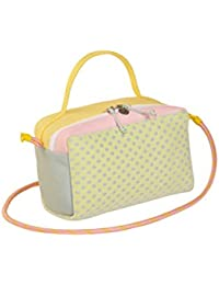 lk43 Cacciatorina Super Gum, Bolso de Mano para Mujer, Varios Colores (Yellow / Pink), 15x20x25 cm (W x H x L)