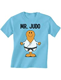 ea0a8df9e675c5 Mr Judo Childrens Niños Camiseta hobbies/sports boys t shirt