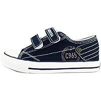 Carrera Jeans Sneakers Niños Azul/Rojo Lona (34 EU, Azul)