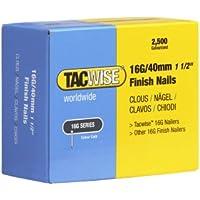 Tacwise Clous de Finition 16G 40mm Acier Galvanisé