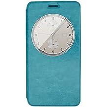 Prevoa ® 丨Elephone P7000 Funda - Flip PU Funda Cover Case para Elephone P7000 5.5 Pulgadas Android Smartphone - Azul