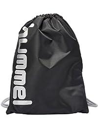 Hummel Turnbeutel in Schwarz, Blau oder Gelb,- REFLECTOR GYMBAG SC - Gymsack mit Innentasche für Damen & Herren - Gym Bag mit Zugband für Sport & Fitness