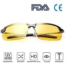 Gafas Nocturna | Gafas de sol - Para la pesca / Conducción nocturna / Reducción de